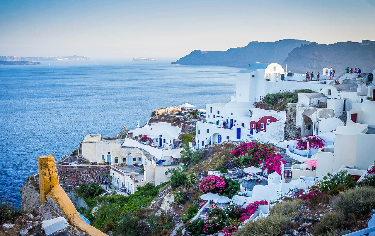 Hilltop View of Greece